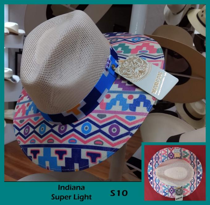 Morcon Hats - Italy Panal/S. light Indiana 226910121367